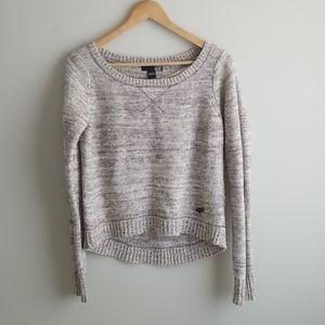 fox lightweight wool high-low sweater